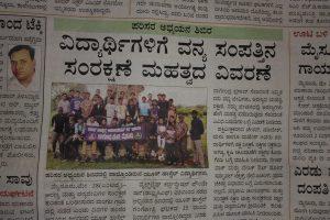Nature camp in Bandipur to YHAI members.